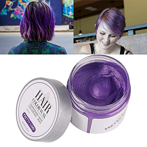 Generic Hair Color Cream Pastel Hairstyles Temporary Hair Dye Gel ...