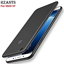 Rzants For V7 Smooth Ultra-thin light Soft Back Case Cover For VIVO V7