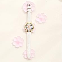 guoaivo LVPAI Watches Women Quartz Wristwatch Clock Ladies Dress Gift Watches -White