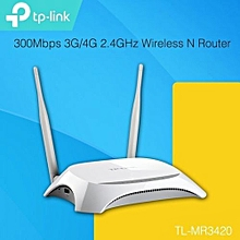 TP-LINK TL-MR3420 3G / 4G LTE Broadband 300Mbps Wireless WiFi Router
