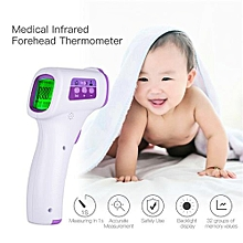 Baby Infrared Forehead Thermometer Handheld Digital LED Screen Temperature Measurement