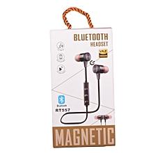 Magnetic Bluetooth Headset - Black