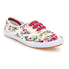 Floral Ladies' Tommy Takkies