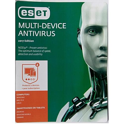 ESET Multidevice Antivirus - 2 User License