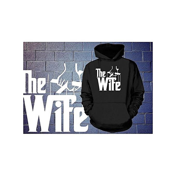 Generic Gift For Wife Hooded Sweatshirt Funny Wedding Gift For Wife