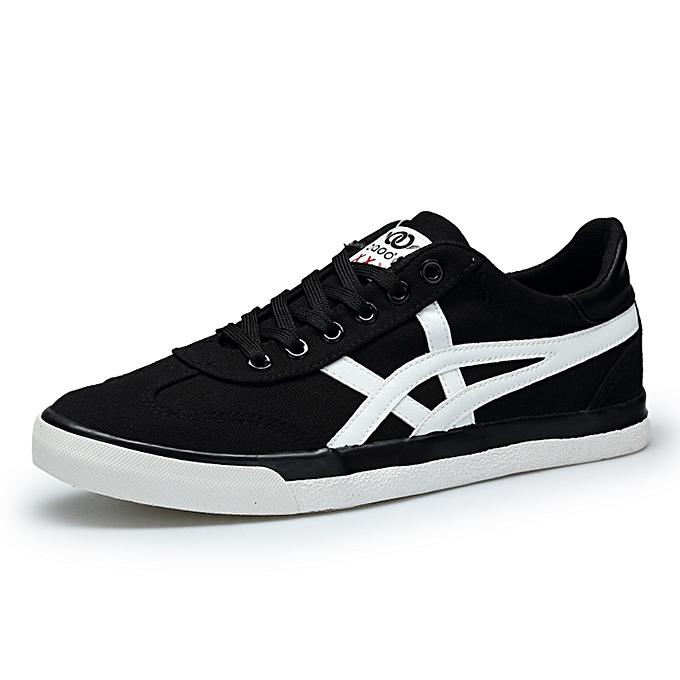 Buy Tauntte Canvas Shoes Men Sneakers Black Best Price Jumia Kenya