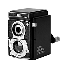 Deli 0668 Mechanical Pencil Sharpener Innovative Manual Pencil Sharpening Tool-black