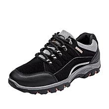 Men Outdoor Sneakers Sports Hiking Casual Waterproof Anti-Skidding Shoes BK/39-Black_CN SIZE