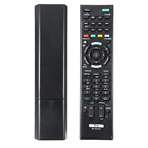 Sony TV Remote - TV Replacement Controller Suites - All Sony Bravia TV  Models - Black