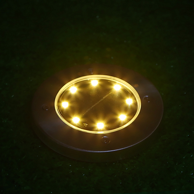 4pcs Solar Ground Light Lawn Lamps Outdoor Lamp Ip65 20lm Path Garden Landscape Spike Lighting For Yard Driveway Lawn Pathway Lights & Lighting Led Lawn Lamps