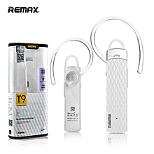 Remax RB-T9 HD Voice Bluetooth Headset Earphone Handsfree JY-M