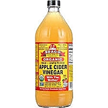 Apple Cider Vinegar Organic 16oz (Raw/Unfiltered) With ' The Mother'