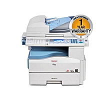 MP201SPF - A4 Mono Printer Scanner Copier Fax - 4-in-1 Laser Multifunctional MFP - Grey & White
