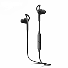 Awei A890BL Wireless Sports Bluetooth 4.0 Earphone With NoiseIsolation Handsfree Function (Black)  JY-M