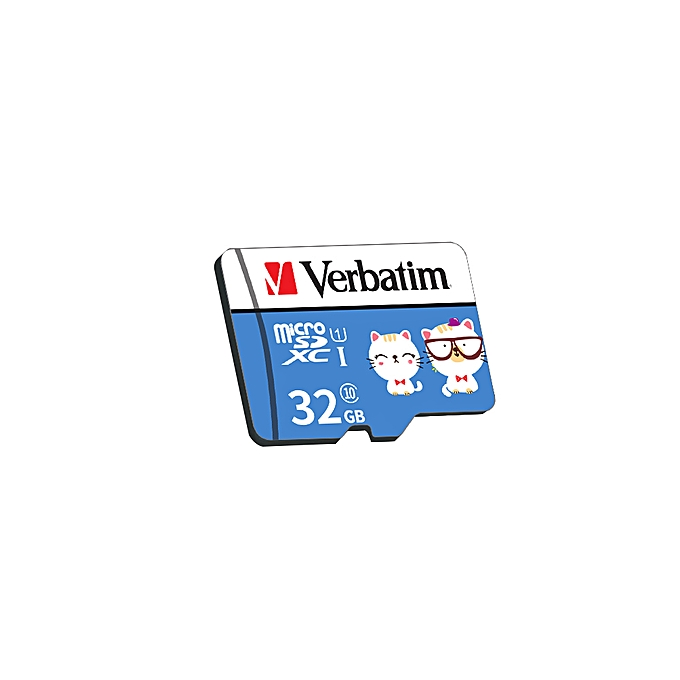 Verbatim Micro SD Card Class10 TF Card 32GB Memory Card for Smart Phone  Tablet PC Car Recorder (Adapter Not Include)