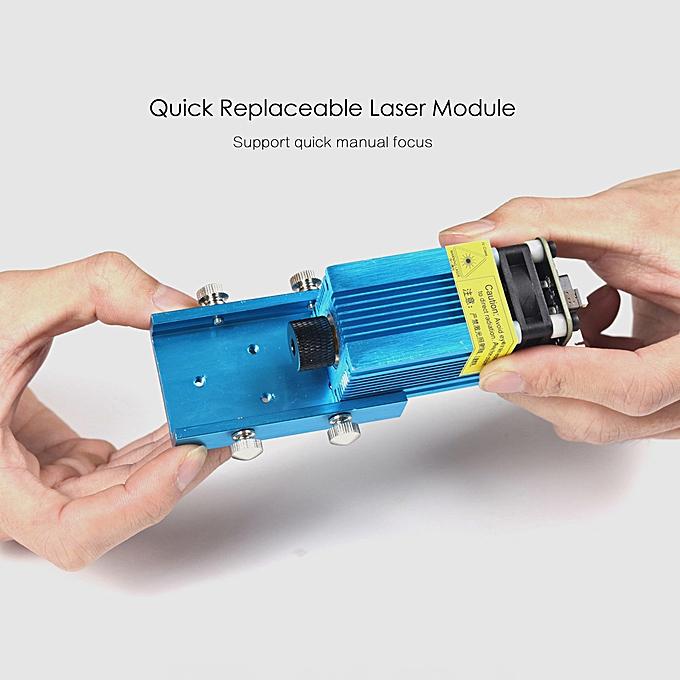 EleksMaker EleksLaser A3 Pro 500mw Desktop USB Laser Engraving Carving  Machine Engraver Carver DIY Laser Printer with Protective Glasses