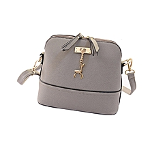 b2a7d0b03e7d New Women Messenger Bags Vintage Small Shell Leather Handbag Casual Bag GY