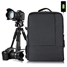 HUWANG 8099 Multi-functional Universal Photography Waterproof Nylon DSLR SLR Camera Bag Backpack  Camouflage