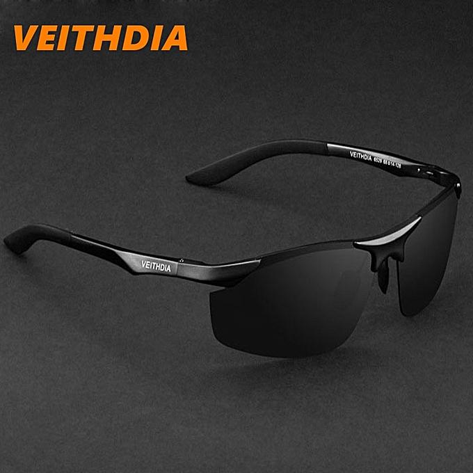 064d78b690f1 VEITHDIA Aluminum Magnesium Brand Designer Polarized Sunglasses Men Glasses  Driving Glasses Summer 2016 Eyewear Accessories 6529