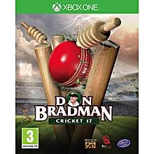 XBOX 1 Game Don Bradman Cricket 17