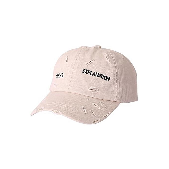 Men Women Adjustable Baseball Sunscreen Cap Snapback Hip-Hop Hat Unisex Cap 3b16433406f