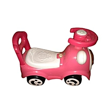 Ride On Toy For Kids Pink Colour