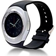 Y1 Smart Phone Watch -( MTK6261) - Bluetooth 3.0 280mAh - Black/silver