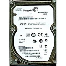 500GB Laptop Internal Hard Drive