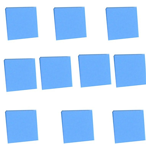 Notebook Heat Dissipation Silicone Pad Solid Silicon Wafer Silicone Pad blue