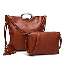 2pcs Composite Bag Fashion Women Bags Single Shoulder Bag Handbag Sets