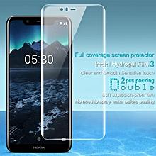 Imak 2pcs Hydrogel Film for Nokia X5 / 5.1 Plus Full Cover Screen Protector