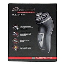 Rechargable Shaver/Smother-GM-7500 Black