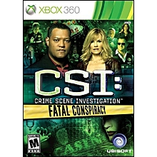 XBOX 360 Game CSI Fatal Conspiracy