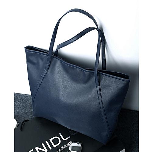 UNIVERSAL New Women Fashion Sexy Leather Handbag Shoulder Leisure Shopping  Bags-blue bdbc9768527ad