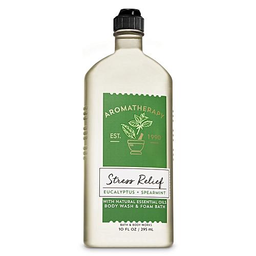 Bath Body Works Aromatherapy Stress Relief Eucalyptus And