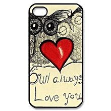 Owl Always Love you Hard Case Cover Back for Apple iPhone 5 5S 5TH-AS Shown