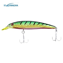 TSURINOYA DW03 Outdoor 110MM Hard Fishing Lure Crank Bait-COLORMIX