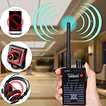 Anti Signal Hidden Camera Audio Bug Finder 4G GPS Lens RF Tracker Detector Black