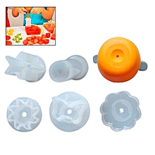 DIY Carved Fruit Decorating Mould Fruit Cutter for Cake Decoration