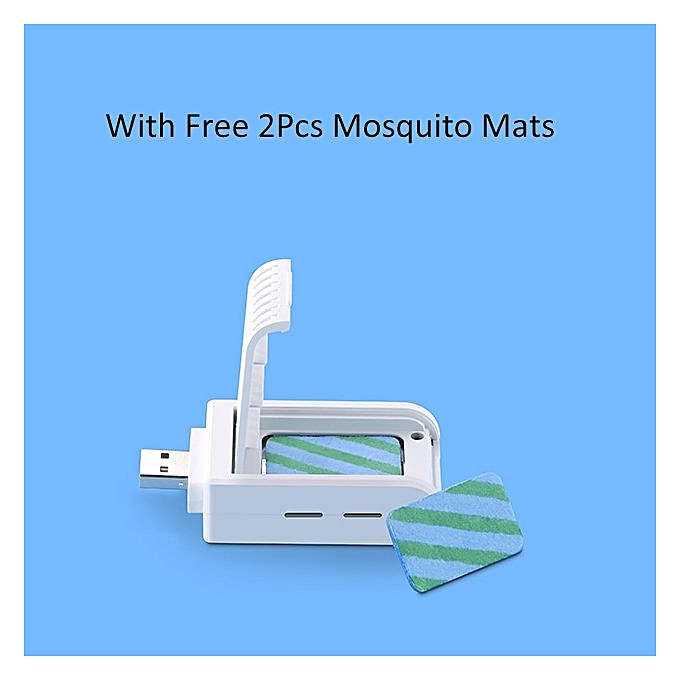 ... Plug & Play Portable USB Mosquito Killer with 2Pcs Free Mosquito Mats Non-toxic ...