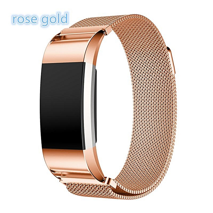 aafb606591bd Milanese Loop for Fitbit Charge 2 Band Replacement Strap Wrist Bands Link Bracelet  Stainless Steel Bracelet