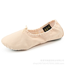 Women Girls Ballet Slippers Shoes Children Kids Canvas Professional Ballet Shoes Adult Teacher Gym Yoga Teacher Soft Ballet Dance - skin