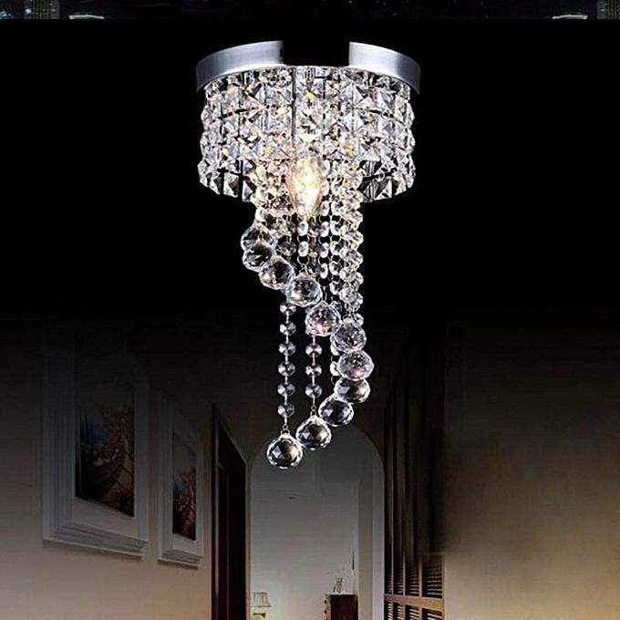 ... Modern LED Galaxy Spiral Crystal Chandelier Lamp Fixture Lighting Pendant Decor # 220V ...