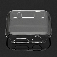Transparent Clear Thin Hard Clip On Case Cover Screen Protector For Apple Watch transparent 38mm