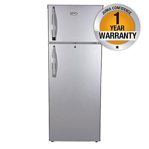 MRDCD105SBR - Refrigerator, Double Door, 10.5Cu.Ft, 212 Litres - Silver