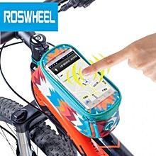 Bike Touch Screen 4.8 inch Tube Bag Phone Pocket Riding Cycling Supplies
