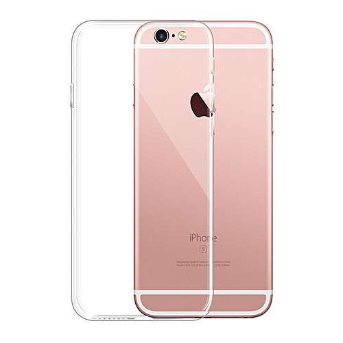a5acba14d5 Generic for iPhone 8 Plus case Simple Solid Color Ultrathin Soft TPU Case  Candy Color Back Cover-Clear