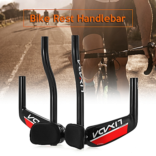 52894bcfb90 Generic Lixada Bike Rest Handlebar Cycling Aero Bar Bicycle Relaxation  Handle Bar Triathlon MTB Road Bike Arm Rest Bar Bike Aerobar