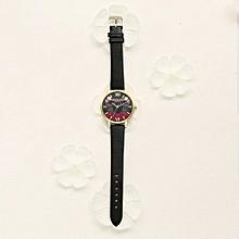 Luxury Women's  LVPAI Wrist Watches  Watches Women Quartz Wristwatch Clock Ladies Dress Gift Watches- Black