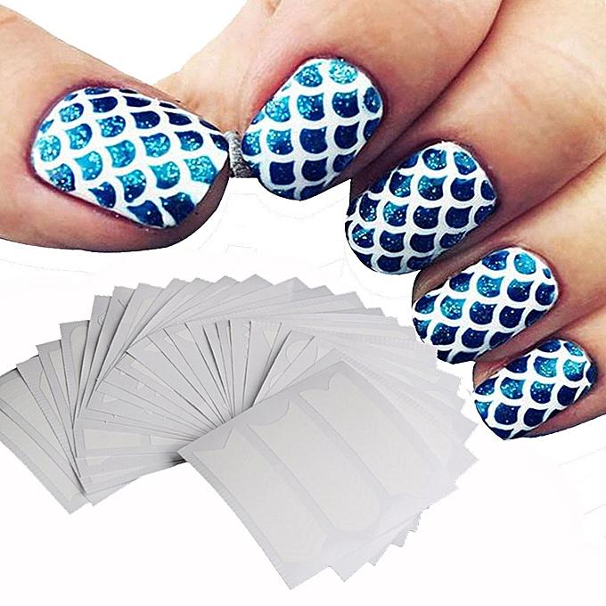 Buy Neworldline 36 Sheets Nail Art Transfer Stickers 3D Design ...